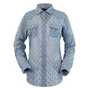 Outback Trading Co Women's Western Snap Shirt (Lg)